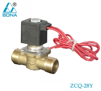 2/2 WAY BRASS SOLENOID VALVE ZCQ-28Y