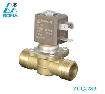 2/2 way brass solenoid valve ZCQ-28B