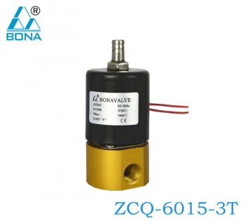 2/3WAY COPPER-COATED ALUMINUM SOLENOID VALVE ZCQ-6015-3T