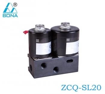 2/2 way Aluminum solenoid valve ZCQ-SL20