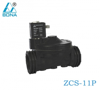 2/2 WAY NYLON SOLENOID VALVE ZCS-11P