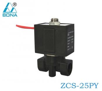 PLASTIC MEGNETIC VALVE ZCS-25PY