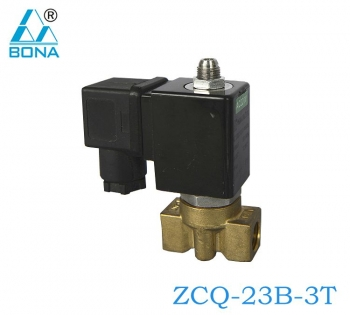 2/3 WAY BRASS SOLENOID VALVE ZCQ-23B-3T