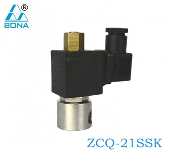 2/2 way stainless steel solenoid valve ZCQ-21SSK