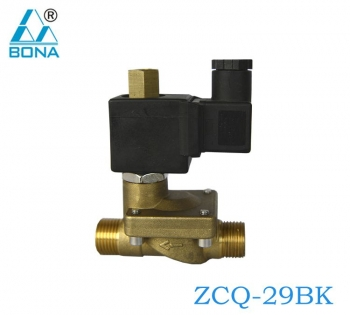 2/2 way brass solenoid valve ZCQ-29BK