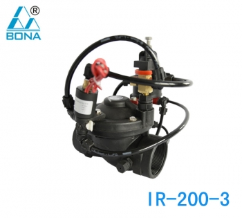 IR-200-3 MANUAL ELECTROMAGNETIC DUAL-PURPOSE PRESSURE RELIEF VALVE