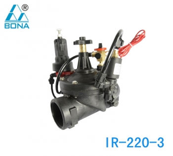 IR-220-3 Manual electromagnetic dual-purpose pressure relief valve