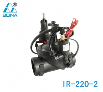 IR-220-2 ELECTRIC PRESSURE REDUCING VALVE
