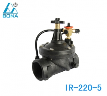 IR-220-5 MANUAL DIAPHRAGM VALVE